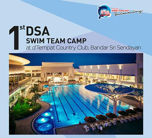 DSA Swim Team Camp at d'Tempat Country Club