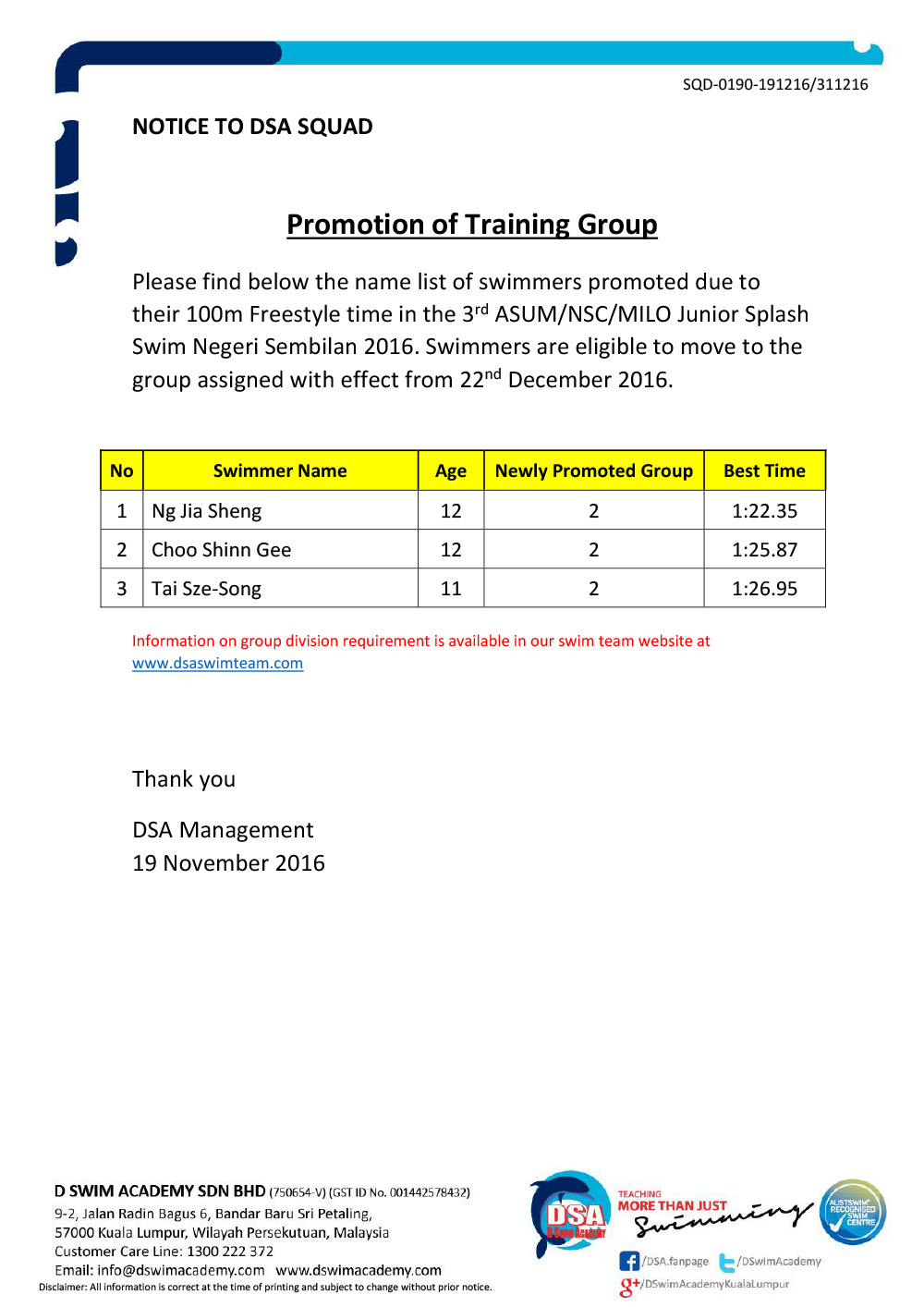 dsa-swim-team-promotion-of-training-groups