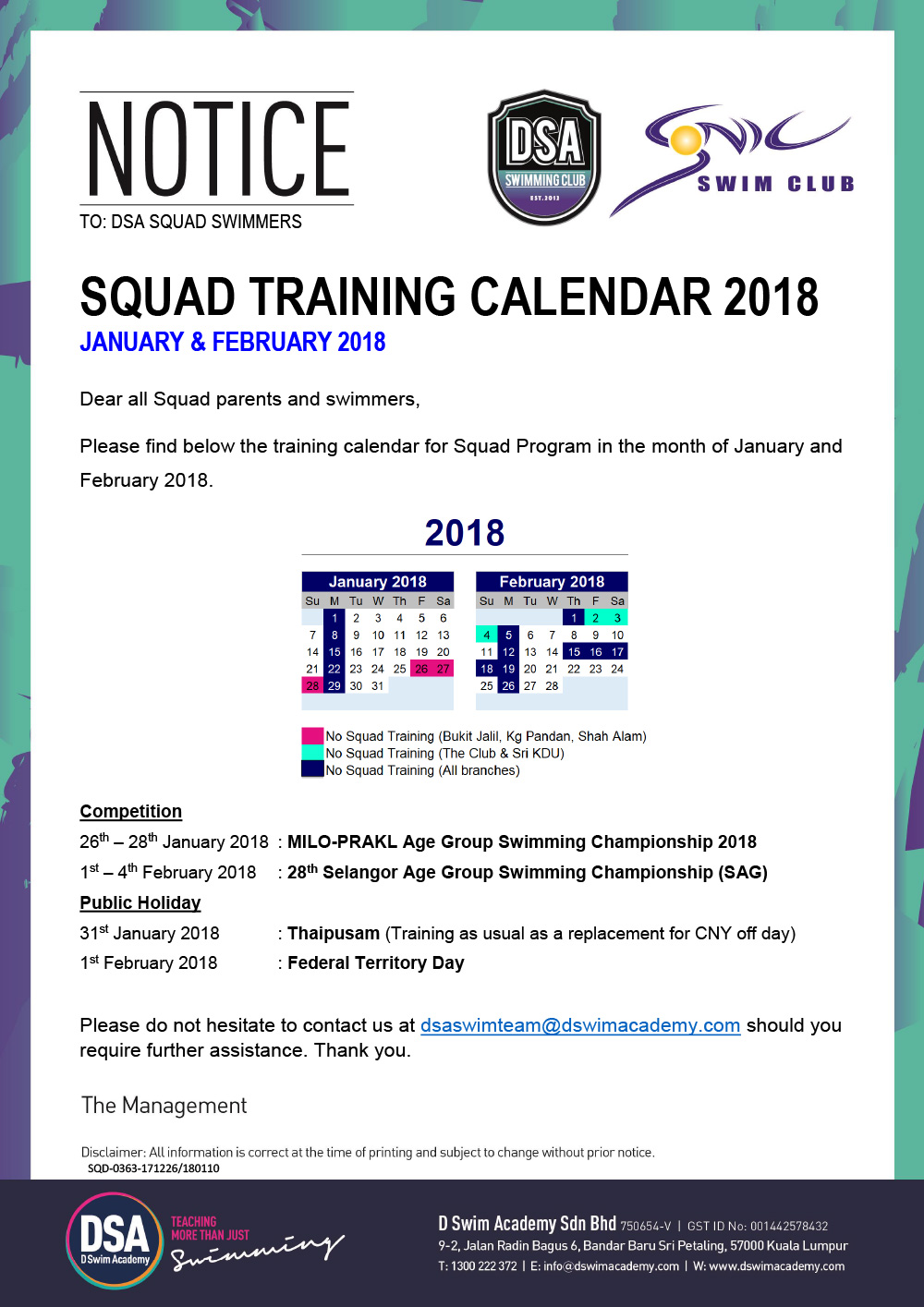 Training-Calendar-Jan-Feb-2018