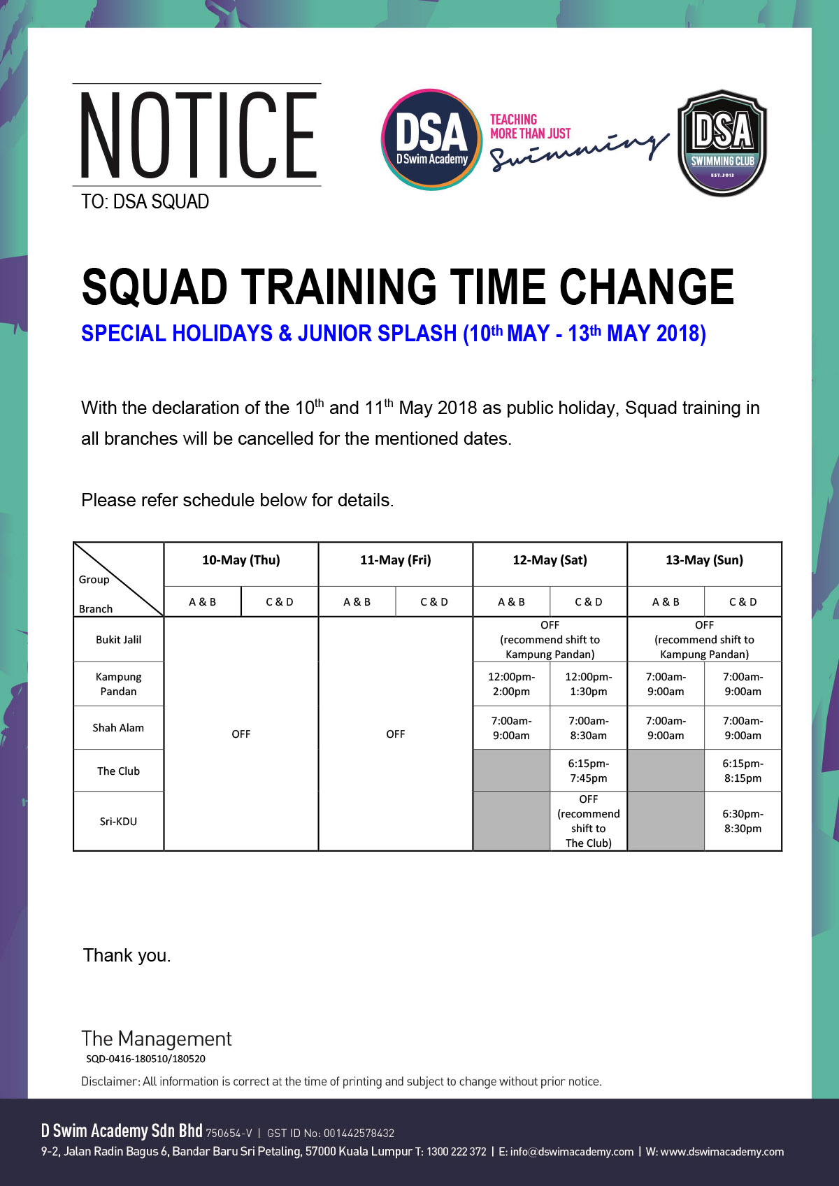Squad-Training-change