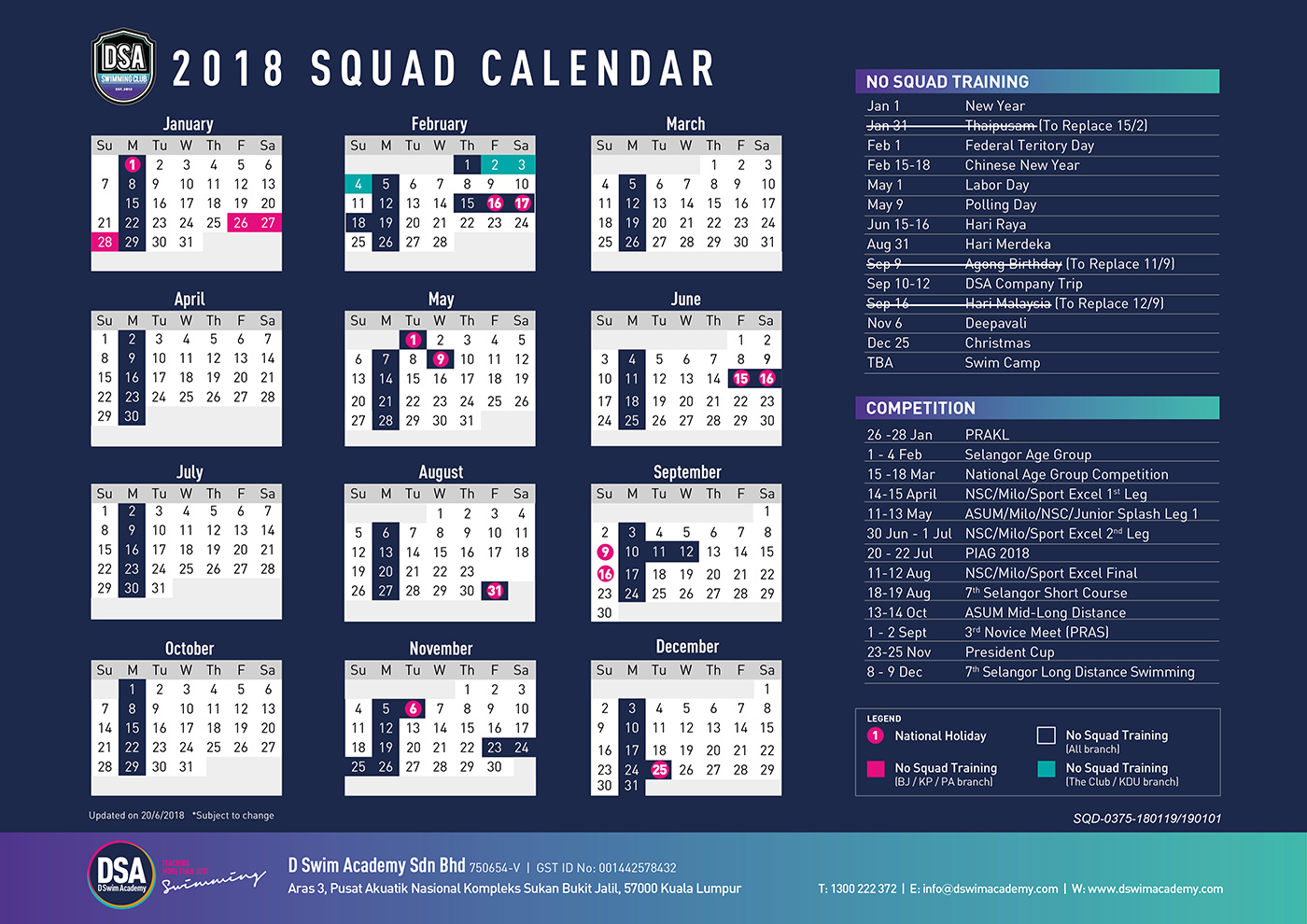 2018_Squad-Calendar