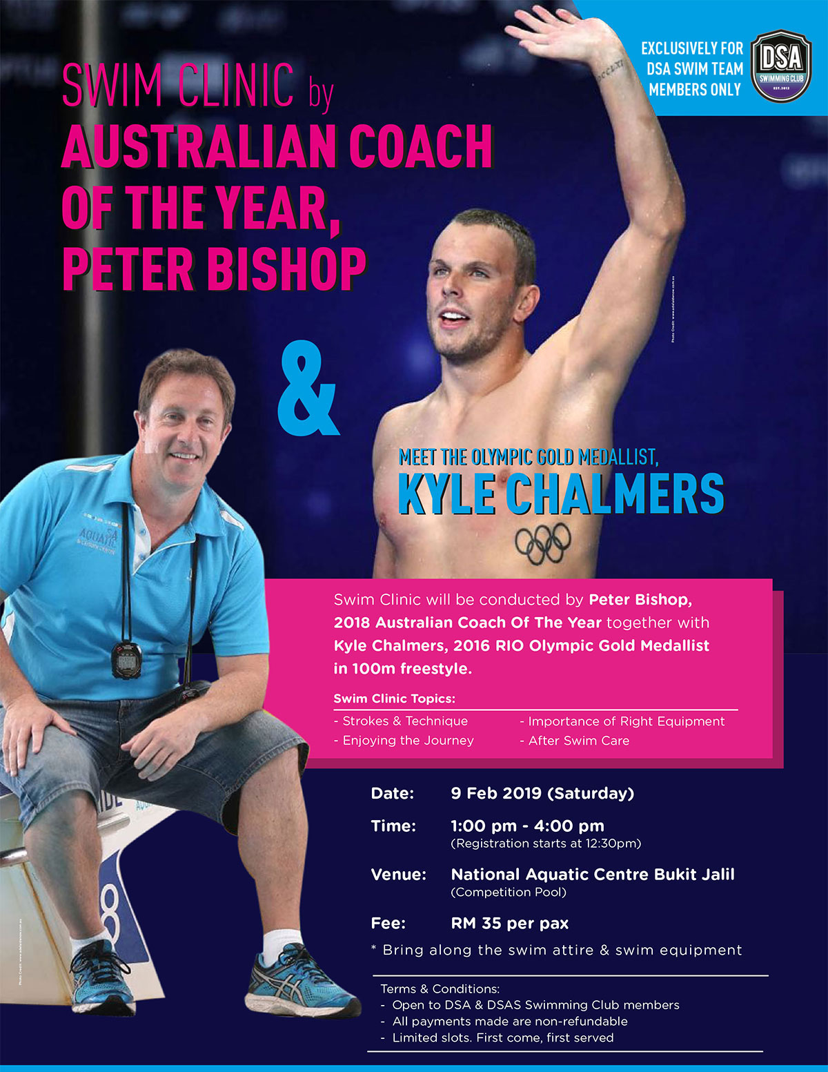 Peter Bishop-Swim Clinic