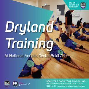 DSA Dryland Training @ Bukit Jalil